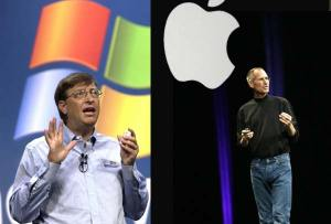 APPLE DESBANCA A MICROSOFT