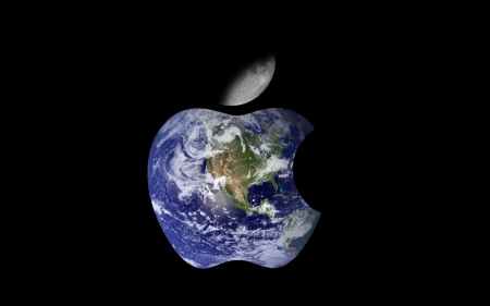 WALLPEPER DE APPLE EARTH